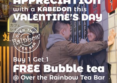 valentines day 2020 bubble tea